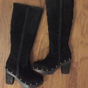 Ralph Lauren Clog Boots